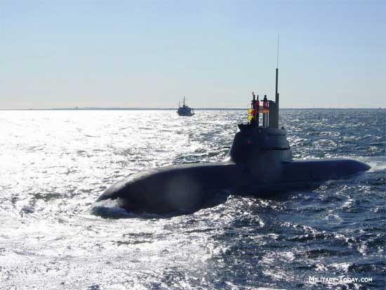 Niemiecki okręt podwodny typu U-212A