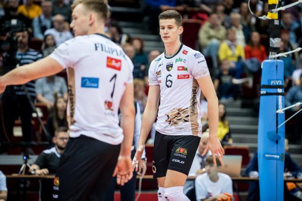 Bartosz Filipiak został MVP spotkania Cuprum Lubin - Trefl Gdańsk 0:3, ale duży udział w zwycięstwie ma też Szymon Jakubiszak, który z powodzeniem zastąpił Pawła Halabę.