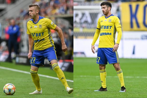 """Marcin Budziński (z lewej) czy Nando? To nie tylko wybór do """"11"""" konkretnego piłkarza, ale także decyzja odnośnie konkretnej strategii gry."""