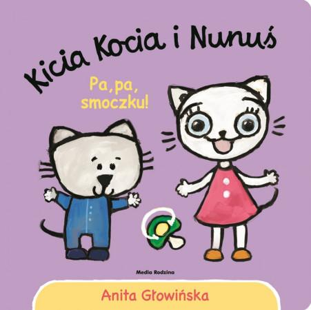 Kicia Kocia pomaga najmłodszym czytelnikom poznawać świat.