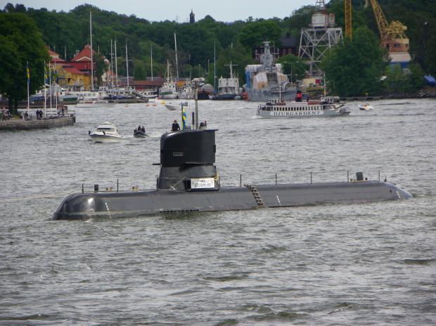 """Szwedzki okręt podwodny """"Södermanland"""" ma trafić do polskiej Marynarki Wojennej na skutek porozumienia ze Szwecją."""