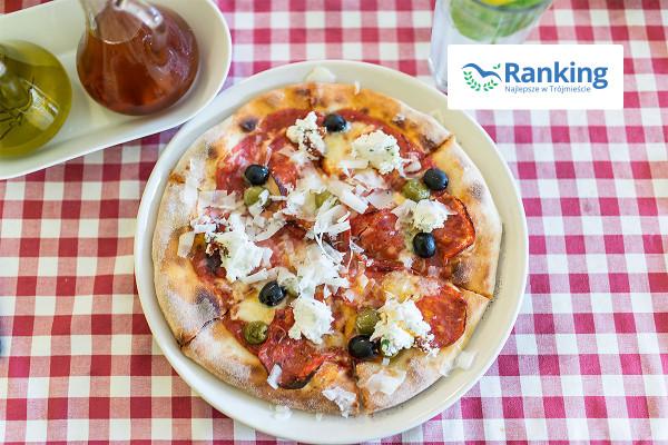 Tym razem prezentujemy ranking najlepszych pizzerii w Trójmieście. Na zdjęciu: pizza z gdańskiej Włoszczyzny.