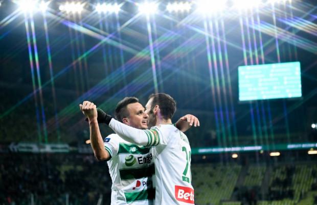 Flavio Paixao po asyście Sławomira Peszki strzelił jedynego gola w meczu Wisław Kraków - Lechia Gdańsk 0:1.