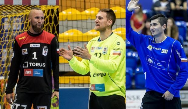 W tym sezonie w bramce Torus Wybrzeże Gdańsk stało już trzech bramkarzy (od lewej: Paweł Kiepulski, Artur Chmieliński i Przemysław Witkowski) a w odwodzie jest jeszcze Dawid Wodziński.
