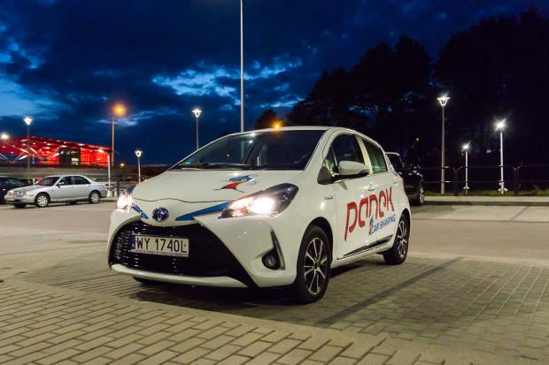 Najtańsza w ofercie PanekCS jest Toyota Yaris.