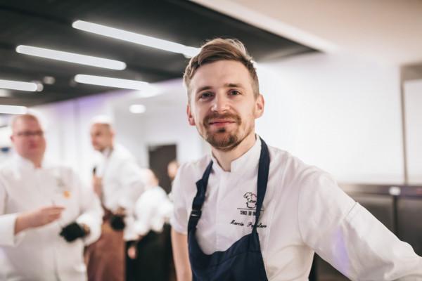 Marcin Popielarz - prawdopodobnie najbardziej zdolny trójmiejski szef kuchni.