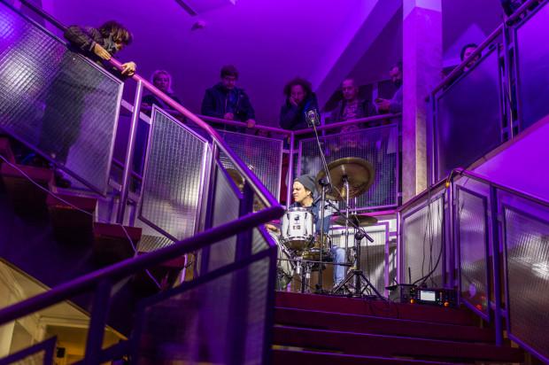 Wernisaż otworzył koncert Arszyna.