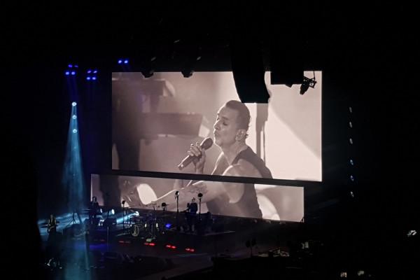 Koncert Depeche Mode w 2018 roku przyciągnął do Ergo Areny ponad 13 tys. widzów.