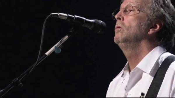 Eric Clapton wystąpił na skwerze Kościuszki w 2008 roku.