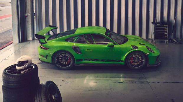 Rasowy sportowiec ze stajni Porsche - 911 GT3 RS.
