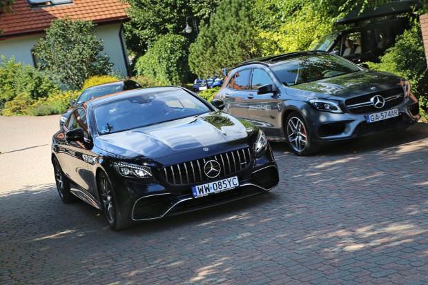 Piękny, luksusowy i sportowy - ot cały Mercedes-AMG S 63 Coupe.