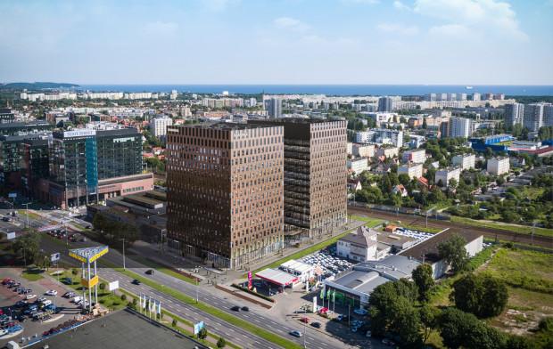 W połowie przyszłego roku gotowa będzie pierwsza z dwóch wież kompleksu biurowego Wave.
