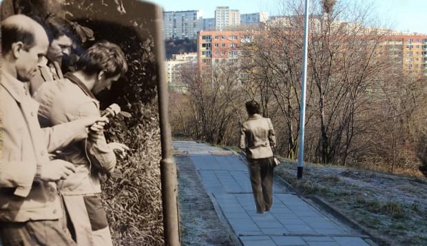 Miejsce ataku na schodach prowadzących z ul. Pana Tadeusza do ul. Kartuskiej na Wzgórzu Mickiewicza.