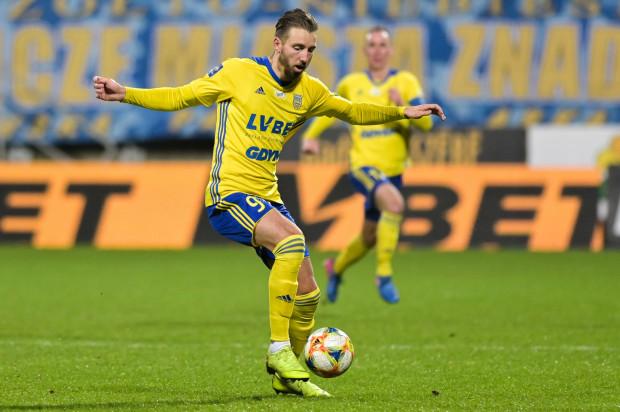 Fabian Serrarens strzelił pierwszego gola w ekstraklasie. Arka Gdynia zremisowała z Lechem Poznań.