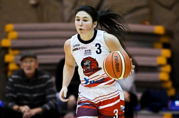 Presley Hudson zdobyła dla DGT Politechniki Gdańskiej 26 punktów w meczu w Poznaniu.