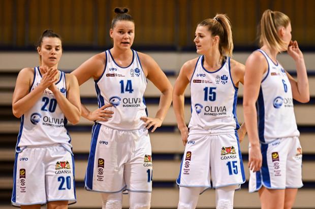 Koszykarki AZS Uniwersytetu Gdańskiego nie miały wielu argumentów, wobec srebrnych medalistek poprzedniego sezonu.