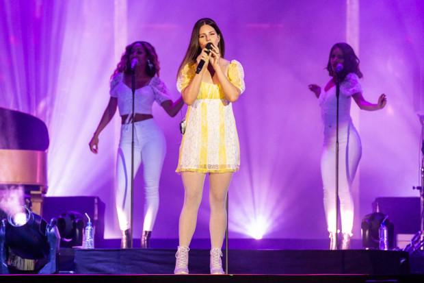Lana Del Rey była jedną z gwiazd tegorocznego Openera.