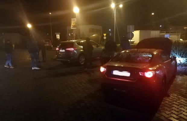 Skradzione auta odzyskano, bo złodzieje jechali wolniej niż wszyscy inni uczestnicy ruchu.