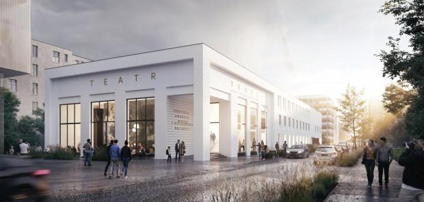 Tak ma wyglądać fasada Teatru Miejskiego po remoncie, który rozpocznie się w 2021 roku.