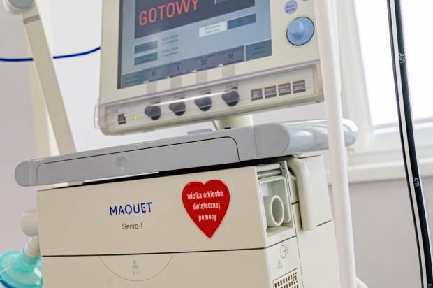 Sprzęt WOŚP można zobaczyć w trójmiejskich szpitalach niemal na każdym kroku.