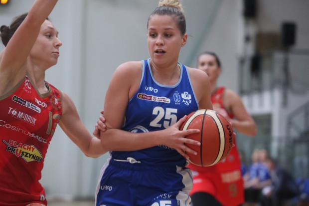 Olga Frolkina w sobotę zadebiutowała w barwach AZS UG, ale nie pomogła odnieść pierwszego zwycięstwa w Energa Basket Lidze Kobiet.