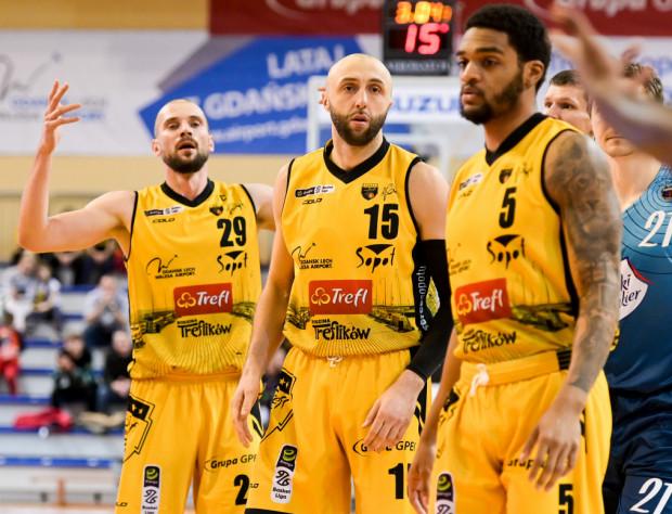 Koszykarze Trefla Sopot rozpoczęli rundę rewanżową EBL od porażki z Kingiem Szczecin.