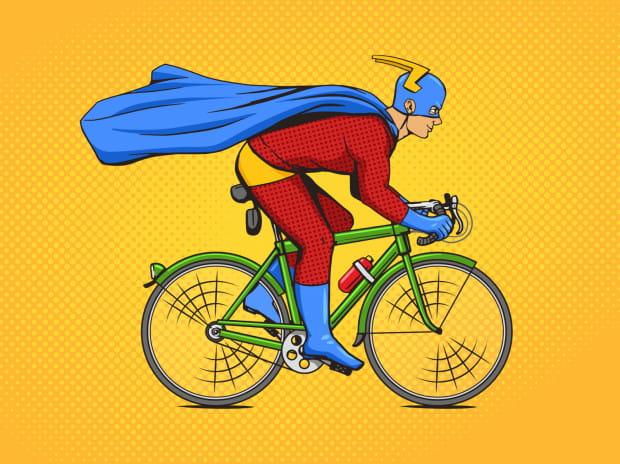 Typ Supermen zawsze się spieszy. Ma do załatwienia ważne sprawy: jedzie ratować świat przed zagładą.