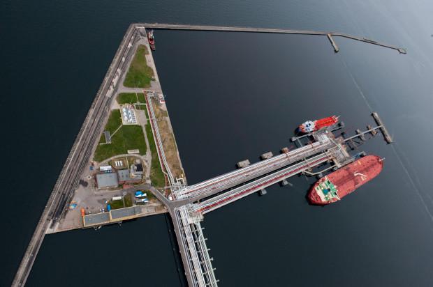 W 2019 roku spółka Naftoport przeładowała 16,8 mln ton ropy i paliw.