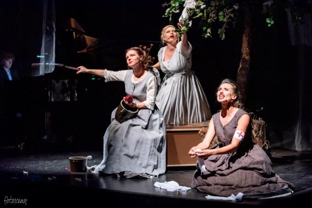 Les Femmes tworzą: Joanna Sobowiec-Jamioł - sopran liryczno-koloraturowy, Natalia Krajewska-Kitowska - sopran liryczny oraz Emilia Osowska - mezzosopran.