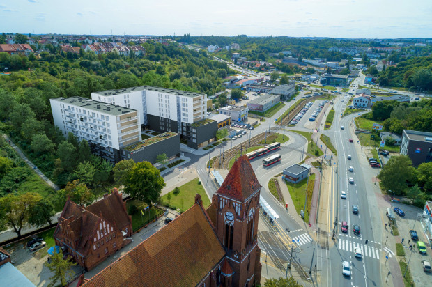 Traffic. Zabudowa mieszkaniowo-usługowa przy pętli tramwajowej gotowa będzie w 2021 roku.
