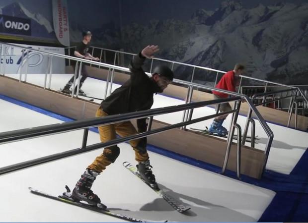 Wobec braku zimy i nieczynnych stoków narciarskich, pozostaje wyjechać w góry lub... spróbować sił na sztucznym stoku.