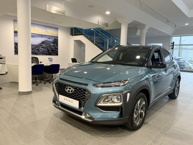 Hybrydowy Hyundai Kona już dostępny w salonie Auto-Mobil w Wejherowie.