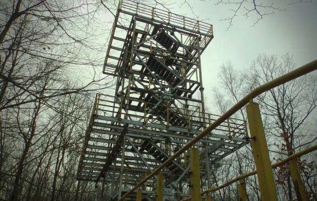 Wieża widokowa na Witominie nieczynna jest od lat 90. Ekspertyza techniczna określa szkielet konstrukcji jako dobry. Największym problemem jest brak drogi dla pojazdów budowy i utrzymania.