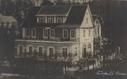 Kurhaus po przebudowie. Prawdopodobnie tak wyglądał, aż do swojego końca w 1945 roku.
