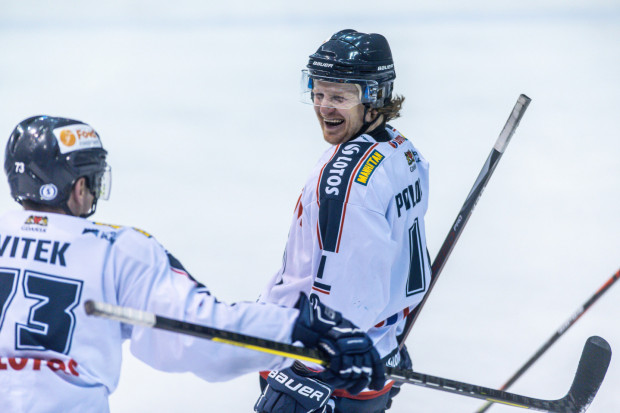 Petr Polodna twierdzi, że jest u progu końca hokejowej kariery, ale wciąż jest jednym z liderów Lotosu PKH Gdańsk.