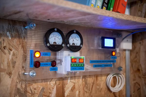 System nadzoru automatu i eliminacji wilgoci własnego projektu.