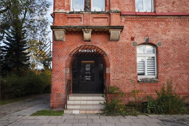 Porolet (al. Grunwaldzka 203) - propozycja przygotowana w ramach projektu Gdańska Szkoła Szyldu.