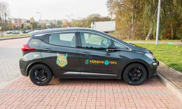 Opela Ampera-e od MiiMove to obecnie jedyna oferta współdzielonych osobowych aut elektrycznych w Trójmieście.