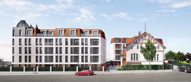 Kamienice Kołłątaja. W ramach nowej zabudowy powstaną mieszkania, lokale na wynajem i apartamenty w starej willi.