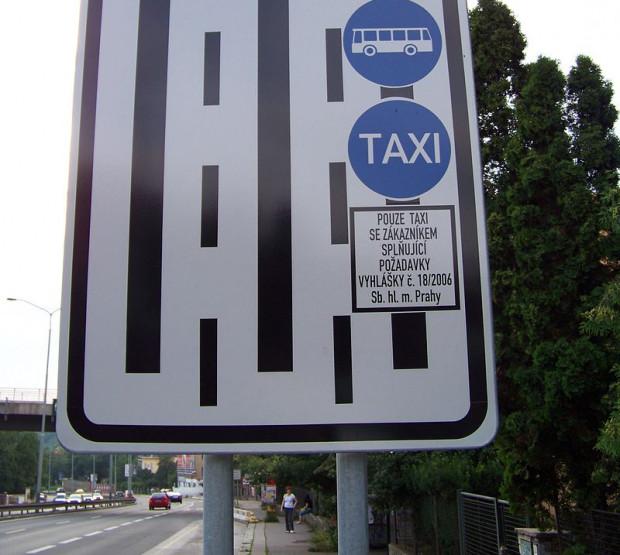 Buspas dostępny także dla taksówek w Pradze.