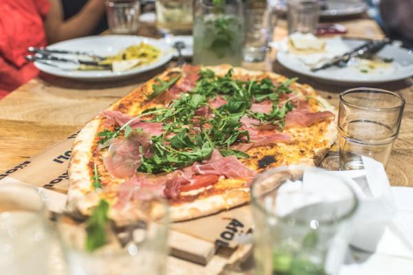 Pizza w Aioli