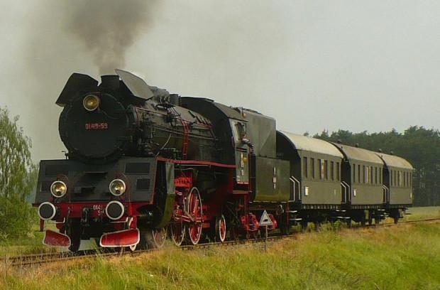 Taki historyczny pociąg będzie jedną z atrakcji niedzielnego festynu na dworcu Gdańsk Główny.