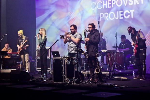 Każdego z trzech dni będzie można zobaczyć dwa różne projekty. W piątek pojawią się Ochepovsky Project i Krzysztof Herdzin. Na zdjęciu: Ochepovsky Project.