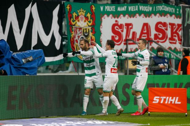 Flavio Paixao strzelił dwa gole dla Lechii Gdańsk we Wrocławiu, ale w doliczonym czasie gry Śląsk Wrocław dogonił remis.