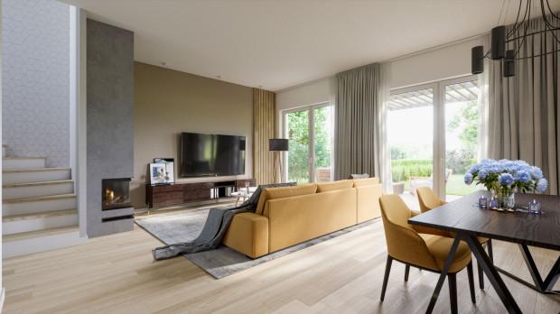 Lagom. Duża przestrzeń do wspólnego spędzania czasu z rodziną i przyjaciółmi oraz relaksu w domowym zaciszu.