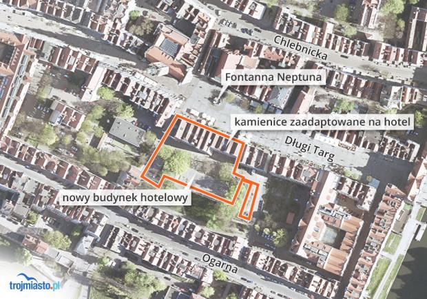 Plany prywatnego właściciela gruntów przy Długim Targu.