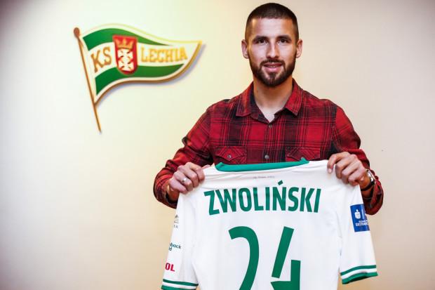 Łukasz Zwoliński 10 lutego stawił się w Lechii Gdańsk. Jego kontrakt ma obowiązywać przez blisko 3,5 roku. Grać będzie z nr 24.