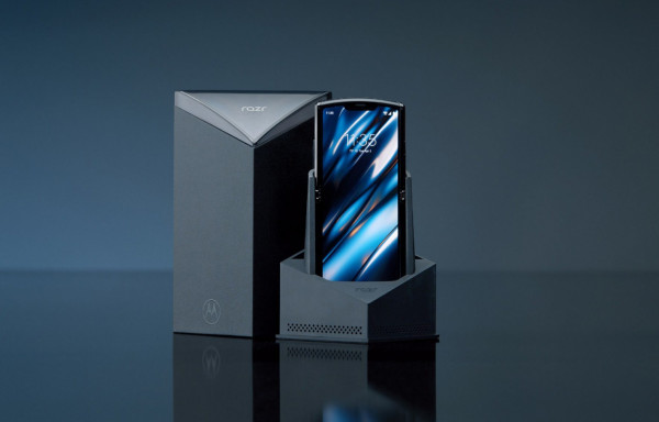 Motorola postarała się o pudełko godne serii Razr.