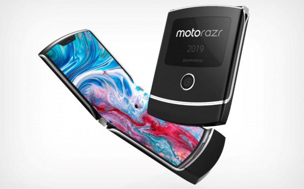 Tak wyglądały prototypy designu Motoroli Razr, prezentowane na początku zeszłego roku.