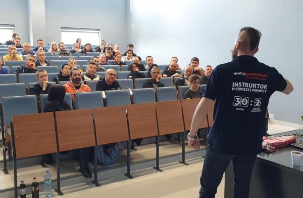 W gdańskim szkoleniu weźmie udział około 50 motocyklistów.